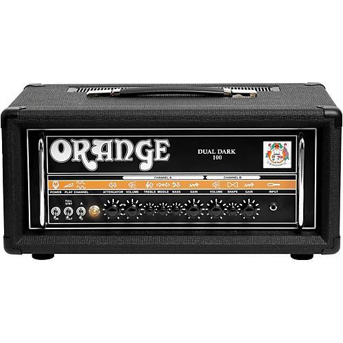 Orange Amplifiers Dual Dark 100W High-Gain Guitar Head