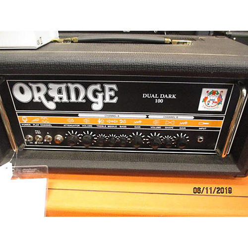 Orange Amplifiers Dual Dark 100w Tube Guitar Amp Head