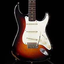 Dual Mag Relic Stratocaster Rosewood Neck  - Custom Built - Namm Limited Edition Wide Fade 3-Color Sunburst