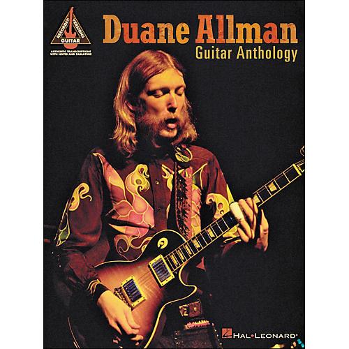 Hal Leonard Duane Allman Guitar Anthology Tab Book