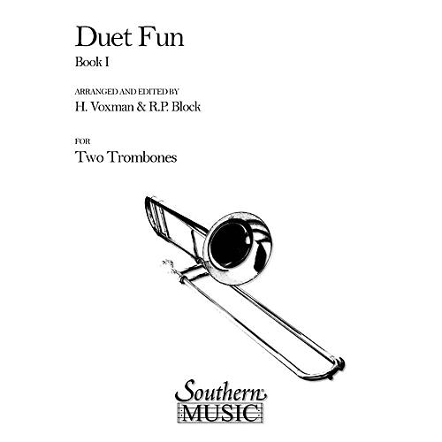 Southern Duet Fun, Book 1 (2 Trombones) Southern Music Series Arranged by Himie Voxman