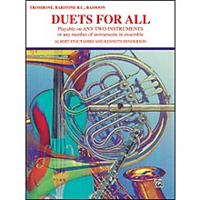 Alfred Duets for All Trombone Baritone B.C. Bassoon