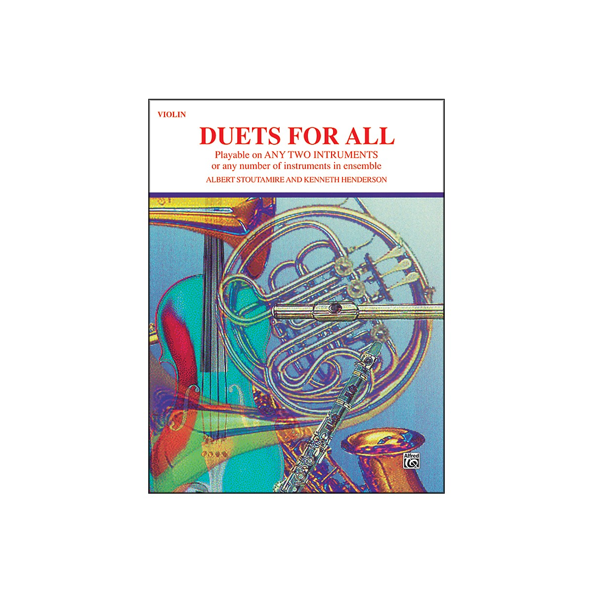 Alfred Duets for All Violin
