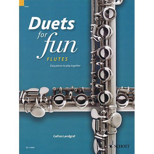 Schott Duets for Fun: Flutes Woodwind Ensemble Series Softcover