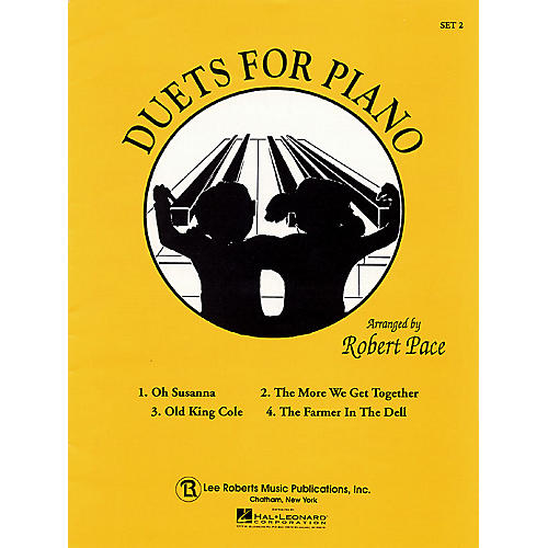 Lee Roberts Duets for Piano - Set 2 Pace Duet Piano Education Series