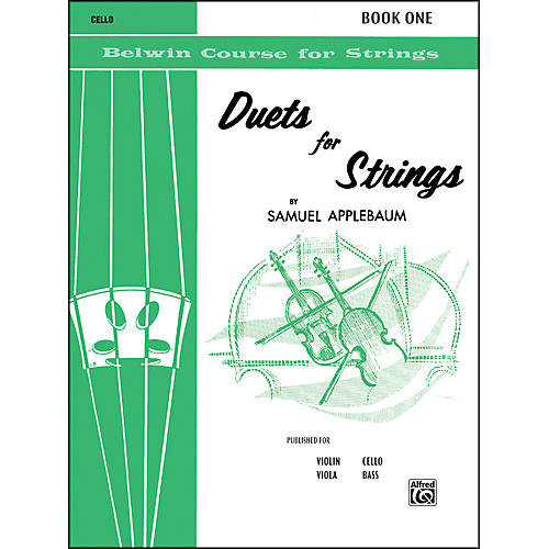 Alfred Duets for Strings Book I Cello