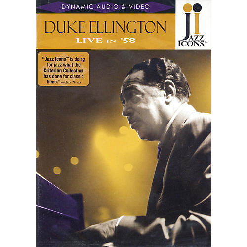 Jazz Icons Duke Ellington - Live in '58 Live/DVD Series DVD Performed by Duke Ellington