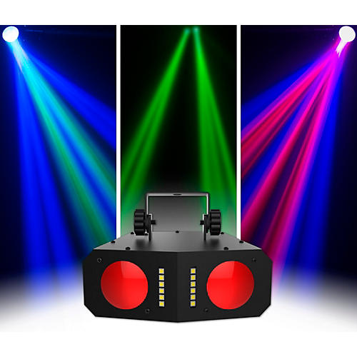 CHAUVET DJ Duo Moon LED Dual Moonflower and Strobe Effect