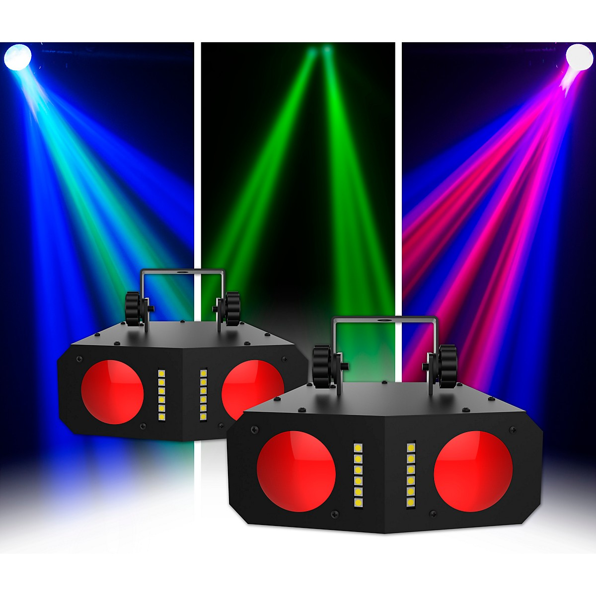 CHAUVET DJ Duo Moon LED Effect Light 2 Pack