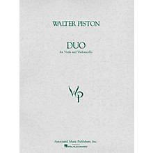 Associated Duo for Viola and Violoncello (Score and Parts) String Ensemble Series Composed by Walter Piston