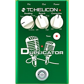 open box tc helicon duplicator vocal doubling effects pedal guitar center. Black Bedroom Furniture Sets. Home Design Ideas