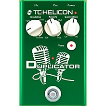 TC Helicon Duplicator Vocal Doubling Effects Pedal