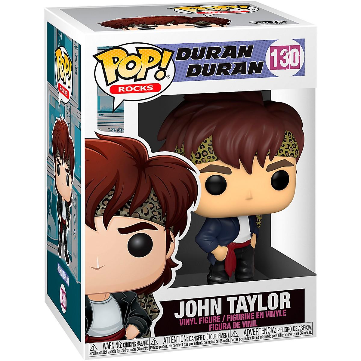 Funko Duran Duran POP! Rocks John Taylor Vinyl Figure #130