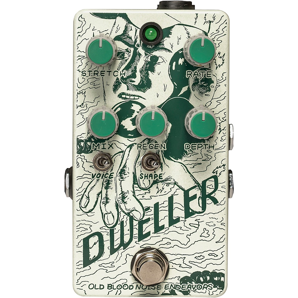 Old Blood Noise Endeavors Dweller Phase Repeater Effects Pedal
