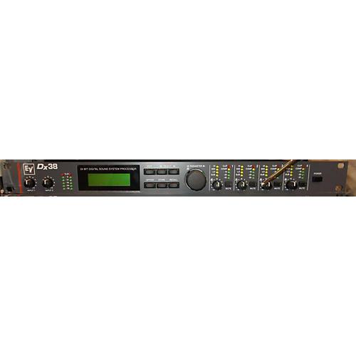 Electro-Voice Dx38 24-Bit Digital Sound System Processor Signal Processor