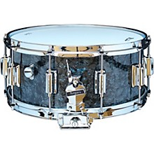 Dyna-Sonic Snare Drum with Beavertail Lugs 14 x 6.5 in. Black Diamond Pearl