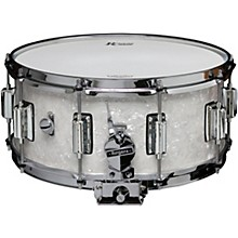 Dyna-Sonic Snare Drum with Beavertail Lugs 14 x 6.5 in. White Marine Pearl