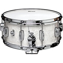 Dyna-Sonic Snare Drum with Bread & Butter Lugs 14 x 6.5 in. White Marine Pearl