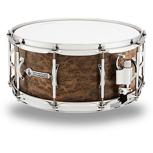 Black Swamp Percussion Dynamicx BackBeat Series Marblewood Veneer Snare Drum