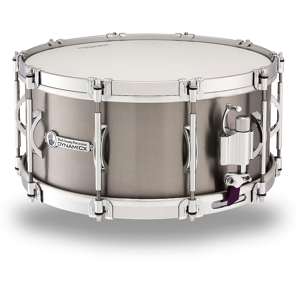 Black Swamp Percussion Dynamicx Sterling Series Titanium Snare Drum
