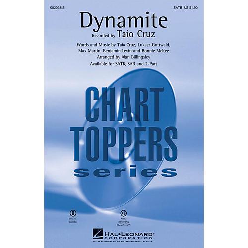 Hal Leonard Dynamite SAB by Taio Cruz Arranged by Alan Billingsley