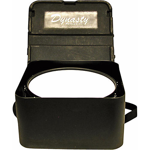 DEG Dynasty Marching Snare drum case, square, black molded for concert or Wedge snare