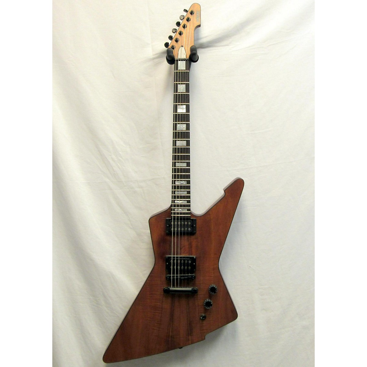 Schecter Guitar Research E-1 Koa Solid Body Electric Guitar