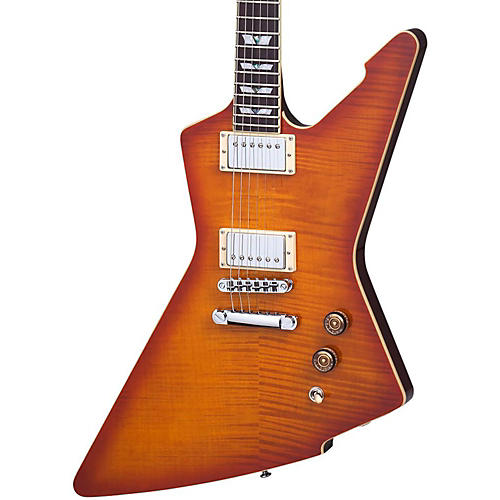 Schecter Guitar Research E-1 Standard Flamed Maple Electric Guitar