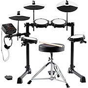 E-Drum Total Mesh Head Electronic Drum Kit Bundle