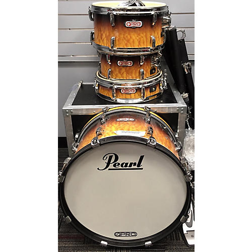 used pearl e pro live custom electronic acoustic drum set electric drum set guitar center. Black Bedroom Furniture Sets. Home Design Ideas