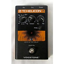 TC Helicon E1 ECHO & TAP DELAY Effect Pedal
