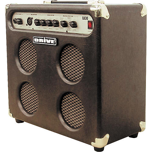 Drive EA30-V8G 4x5 30W Acoustic Combo with XLR Input and Effects