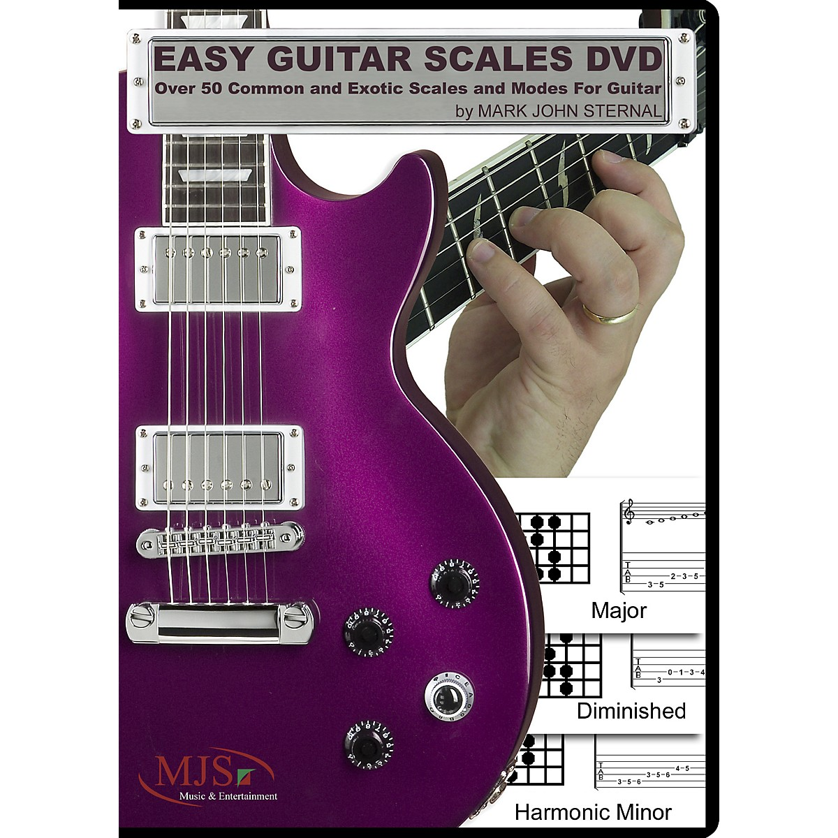 MJS Music Publications EASY GUITAR SCALES DVD