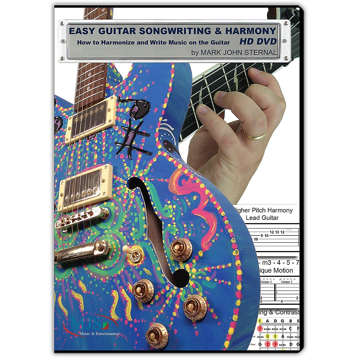 MJS Music Publications EASY GUITAR SONGWRITING DVD: Writing Music and Harmony on the Guitar