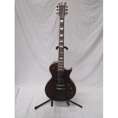 ESP EC401QM Solid Body Electric Guitar