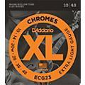 D'Addario ECG23 Chrome Extra Light Electric Guitar Strings thumbnail