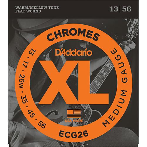 D'Addario ECG26 Chromes Medium Gauge Electric Guitar Strings