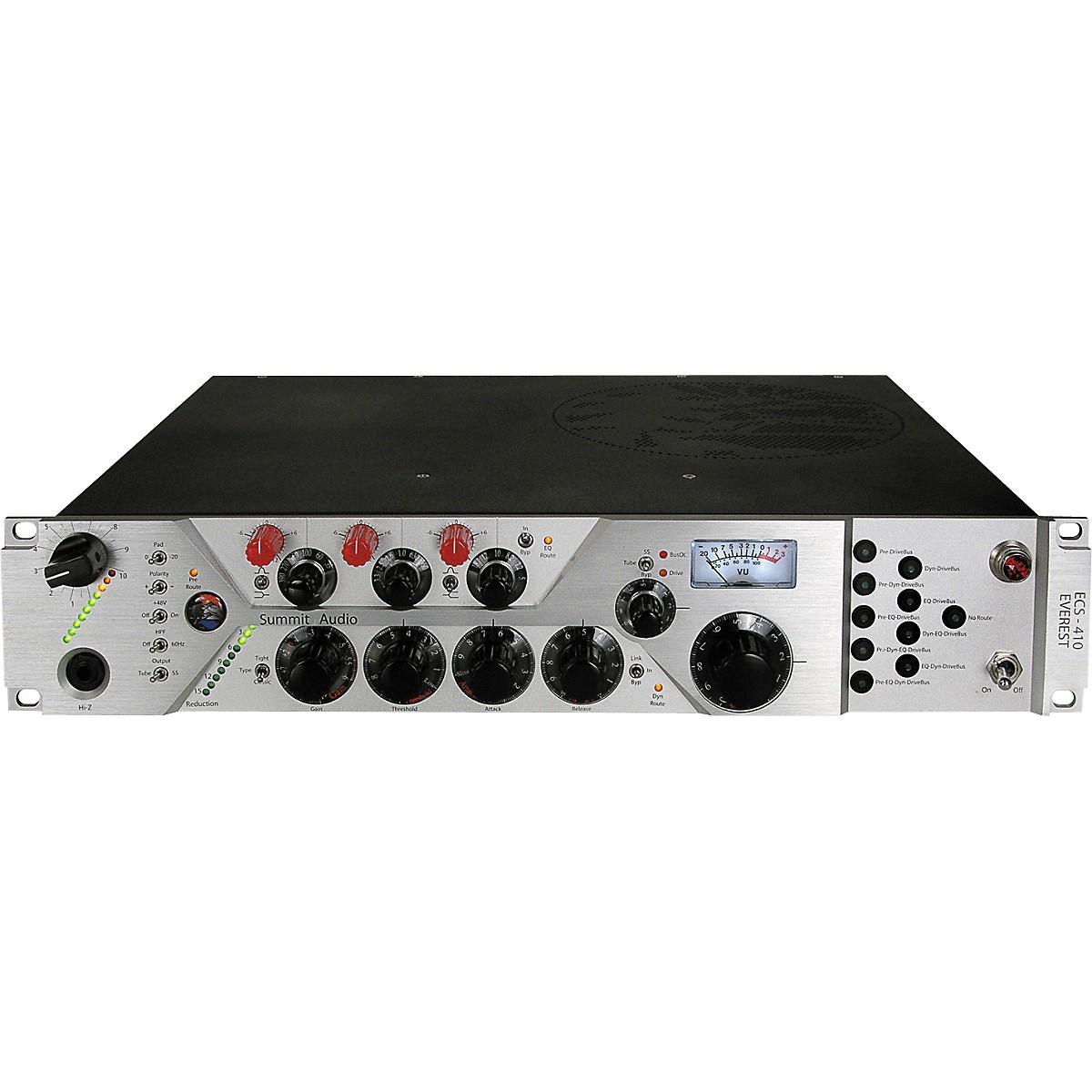 Summit Audio ECS-410 Everest Configurable tube channel strip