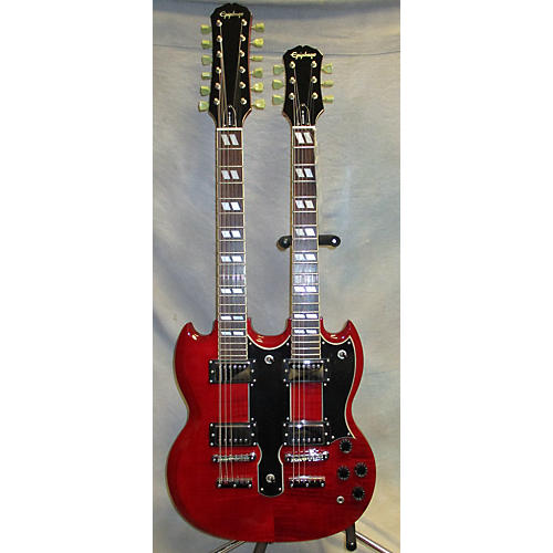Epiphone EDS1275 Double Neck Solid Body Electric Guitar