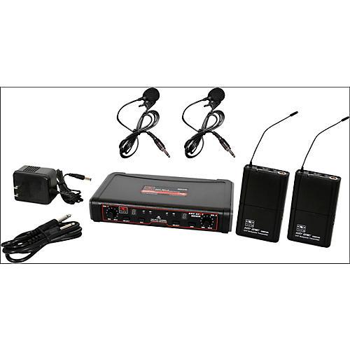 Galaxy Audio EDXR/38VV Dual-Channel Wireless Lavalier System