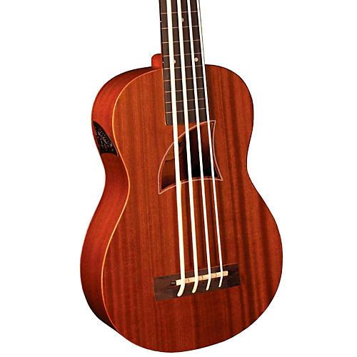Eddy Finn EF-EBASS-FL Fretless Acoustic-Electric Bass Ukulele
