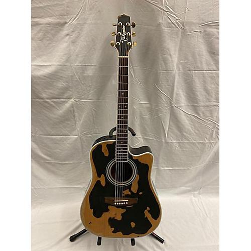 used takamine ef341sc acoustic electric guitar black relic guitar center. Black Bedroom Furniture Sets. Home Design Ideas