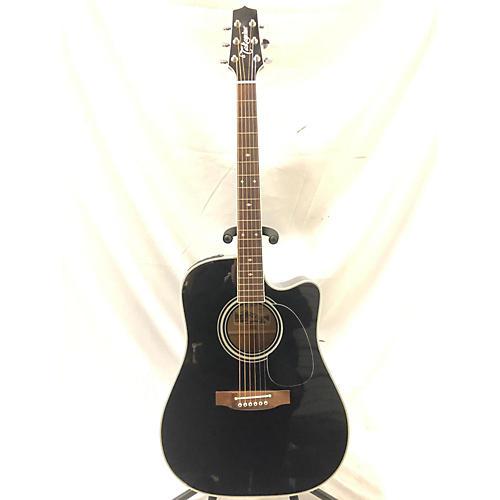 used takamine ef341sc acoustic electric guitar black guitar center. Black Bedroom Furniture Sets. Home Design Ideas