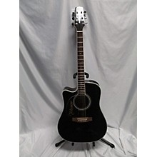 Takamine EF341SC Left Handed Acoustic Electric Guitar