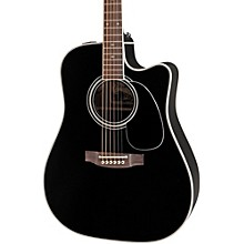 Takamine EF341SC Legacy Series Acoustic-Electric Guitar Level 1 Black