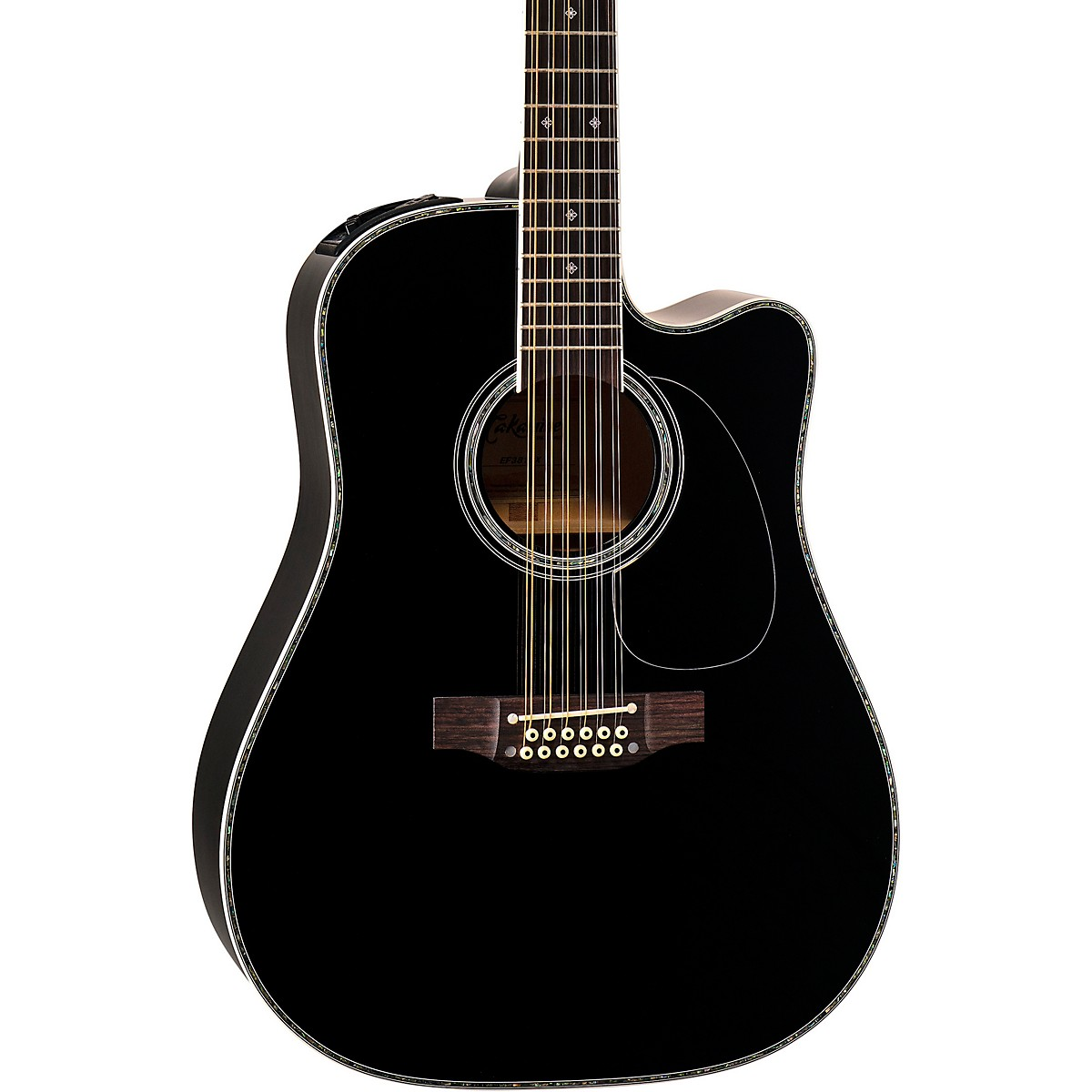 Takamine EF381DX 12-String Acoustic-Electric Guitar