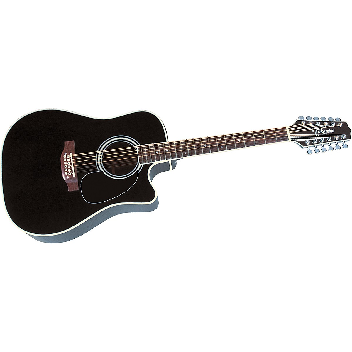 Takamine EF381SC 12-String Acoustic-Electric Cutaway Guitar