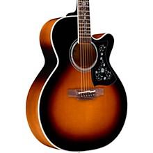 EF450C Thermal Top Acoustic-Electric Guitar Brown Sunburst