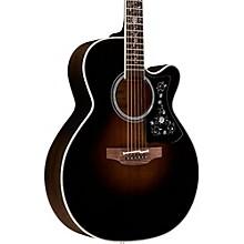 EF450C Thermal Top Acoustic-Electric Guitar Transparent Black Sunburst
