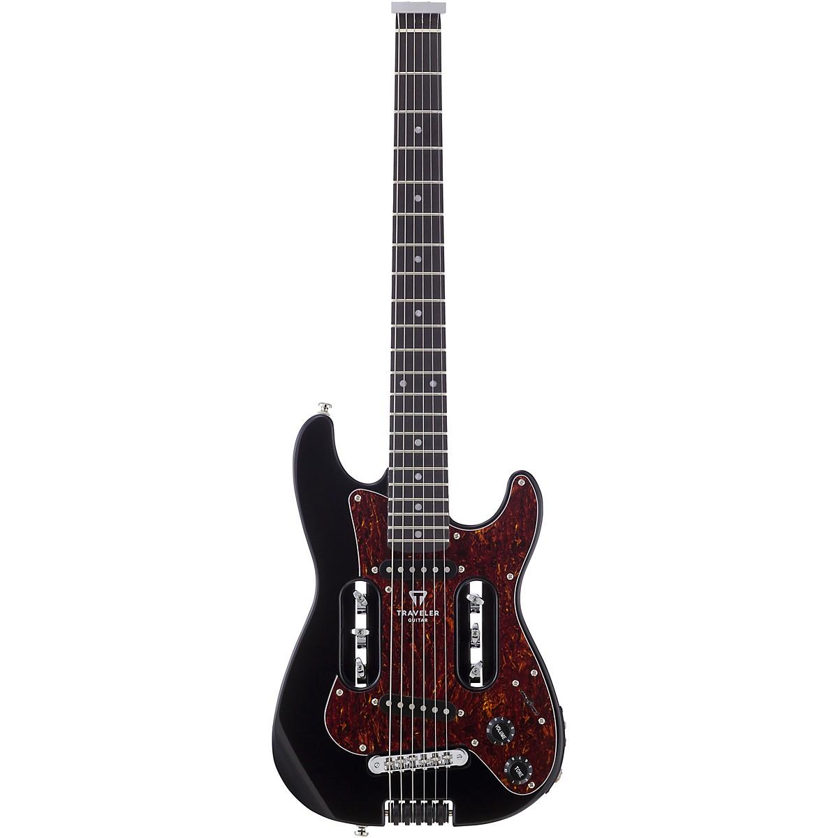 Traveler Guitar EG-2 Standard Electric Travel Guitar with Deluxe Gig Bag
